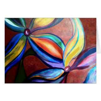 Flowers in Motion Greeting Card