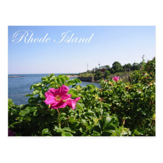 Flowers in Rhode Island Postcard