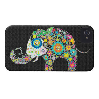 Flowers In Shape Of An Elephant Case-Mate iPhone 4 Case