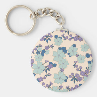 flowers in shape of clovers key chains