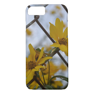 Flowers in the Fence iPhone 8/7 Case
