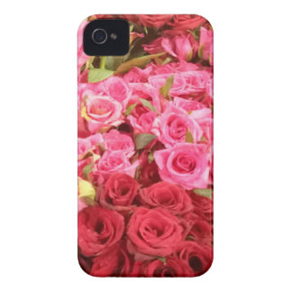 Flowers in the Philippines, pink and red roses iPhone 4 Case