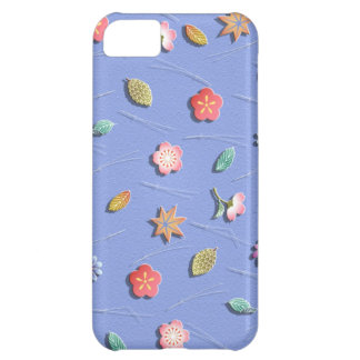 Flowers in the wind iPhone 5C case