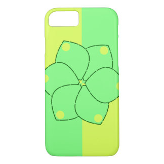 Flowers in yellow and green iPhone 7 case