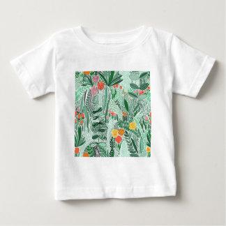 Flowers Indonesia ethno design Baby T-Shirt