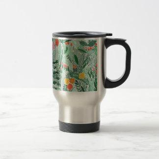 Flowers Indonesia ethno design Travel Mug