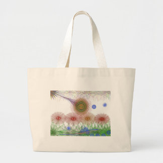 Flowers into the guards tote bags