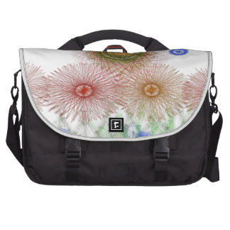 Flowers into the guards commuter bags