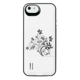 flowers iPhone SE/5/5s battery case