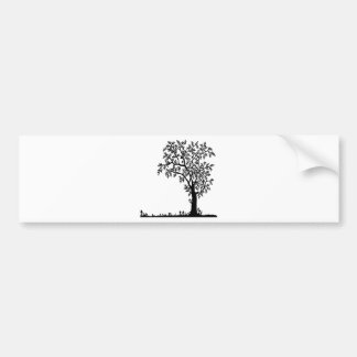 Flowers landscape nature plant bumper sticker