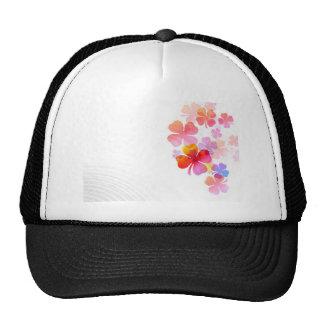 Flowers Lovely Mesh Hats