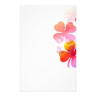 Flowers Lovely Custom Stationery
