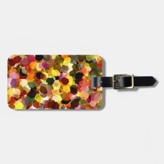 FLOWERS LUGGAGE TAG