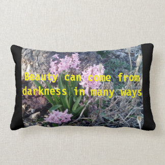 Flowers Lumbar Cushion