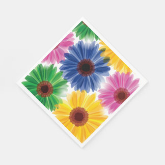 Flowers Luncheon Paper Napkins