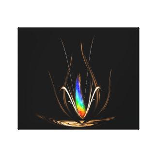 Flowers - magic 2 canvas print