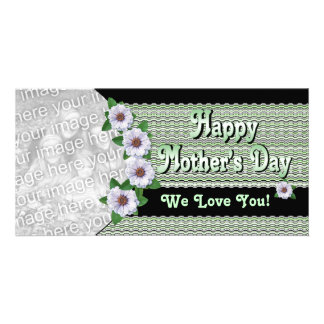 Flowers Mother's Day Photo Card