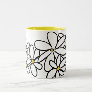 Flowers Two-Tone Mug