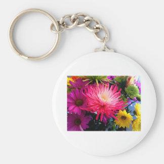 Flowers Mums2 The MUSEUM Zazzle Keychain