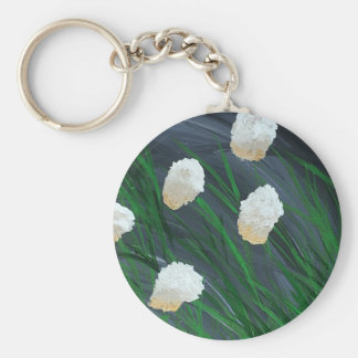 Flowers n a Storm Key Ring