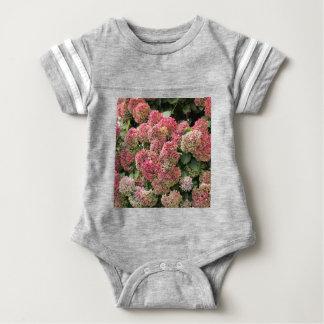 Flowers of a French hydrangea (Hydrangea macrophyl Baby Bodysuit