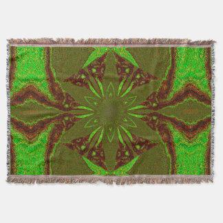 Flowers of Atlantis 50 SDL Throw Blanket