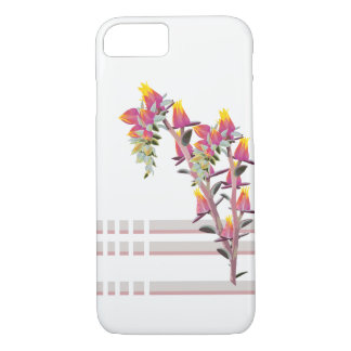 Flowers of echeveria iPhone 8/7 case