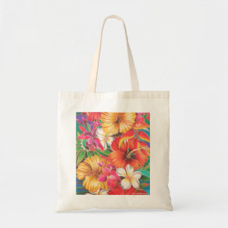 FLOWERS OF FIJI BUDGET TOTE BAG