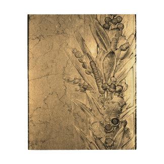 Flowers of Love Wood Print