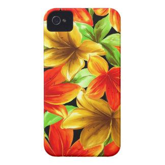 Flowers of Paradise Blackberry Cases