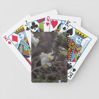 Flowers of Traveller Joy (Clematis brachiata) Bicycle Playing Cards
