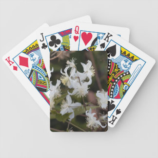 Flowers of Traveller Joy (Clematis brachiata) Bicycle Playing Cards