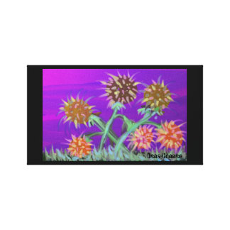 Flowers on Mars 2 Canvas Print