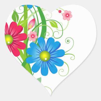 Flowers on Vine Sticker