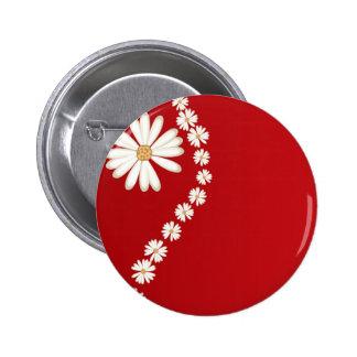 flowers online 2 inch round button