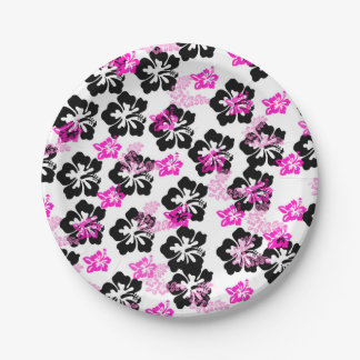 Flowers Paper Plate