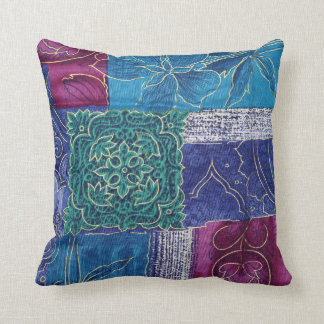 Flowers Patchwork Cushion