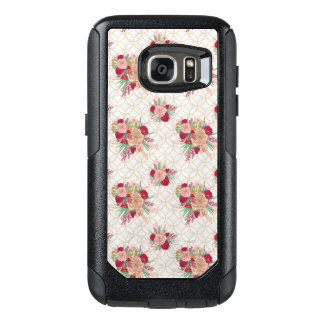 Flowers Pattern OtterBox Samsung Galaxy S7 Case