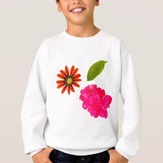 Flowers Pattern Sweatshirt