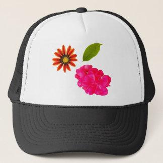 Flowers Pattern Trucker Hat