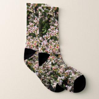 Flowers Photo All Over Print Socks 1