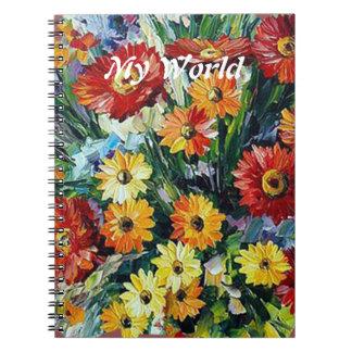 Flowers Photo Notebook