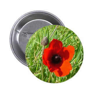 Flowers Pinback Button