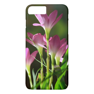 Flowers,pink flowers,lily flowers,leaves iPhone 7 plus case