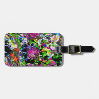 Flowers pink purple garden park beautiful gifts 99 luggage tag