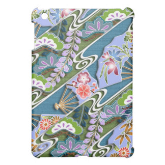 Flowers, plants and fans iPad mini cover