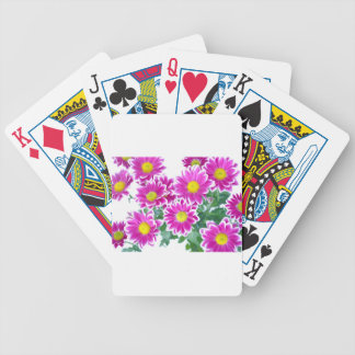 Flowers Poker Deck