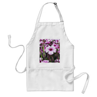 Flowers Purple Apron