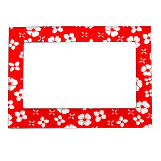 Flowers- Red Magnetic Photo Frames