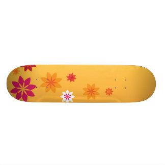 Flowers 21.6 Cm Skateboard Deck